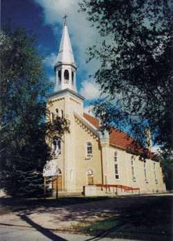 Saint-Joachim Roman Catholic Church, La Broquerie