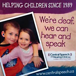 Central Speech and Hearing Clinic Inc., Winnipeg