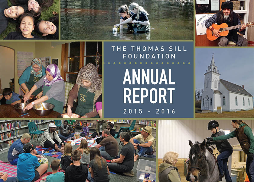 Thomas Sill Foundation Annual Report, 2015-2016