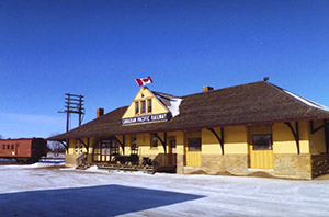 Canadian Pacific Railway station, Portage la Prairie.