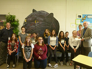 The Youth Advisory Committee of the Pinawa (Panthers) Secondary School gets off to a roaring start!