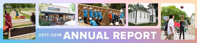 Thomas Sill Foundation Annual Report, 2017-2018