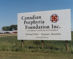 Canadian Porphyria Foundation, Neepawa