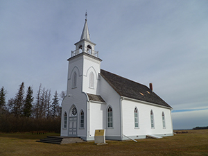 Frelsis Grund Icelandic Lutheran Church, Baldur