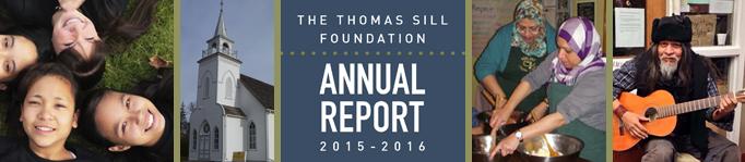 Thomas Sill Foundation Annual Report, 2015-2016