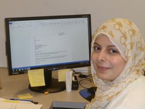 Hanan Akra, intern